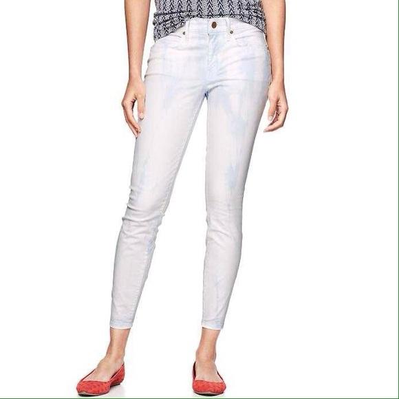 02d5b1e088e38 [Gap]1969 tie dye legging skimmer jeans. M_54d912ce56b2d60c82026ab3
