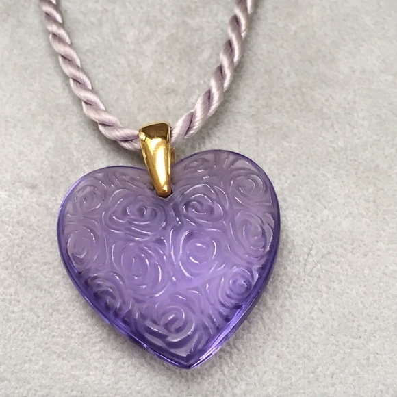 Lalique Jewelry Heart Pendant Poshmark
