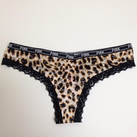 59c304997c Victoria s Secret PINK Animal Print Thong