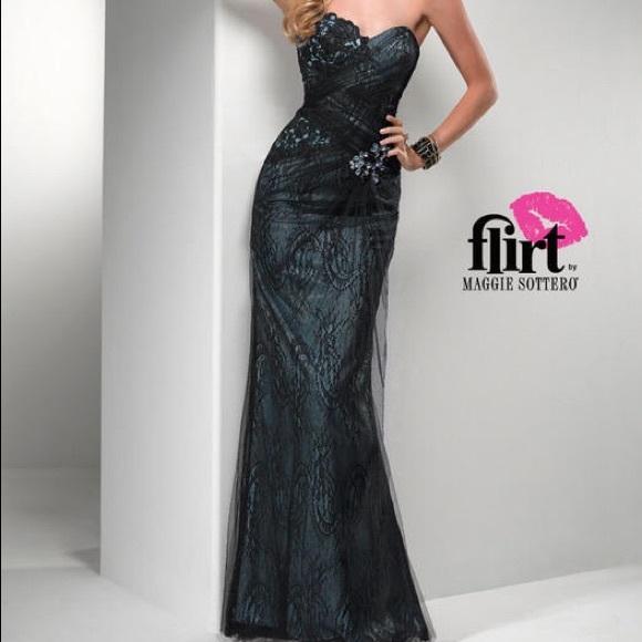 Maggie Sottero Flirt prom dress!