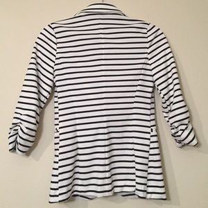 Charlotte Russe Jackets & Coats - Charlotte Russe Ponte Knit Striped Blazer Size S