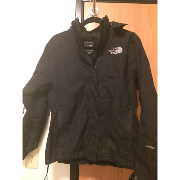 the north face black north face hyvent jacket from jeanette 39 s closet on poshmark. Black Bedroom Furniture Sets. Home Design Ideas