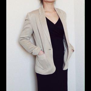 H&M shimmering blazer