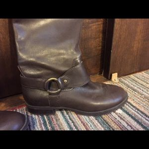 "Ralph Lauren "" Sulita"" brown Riding Boots"