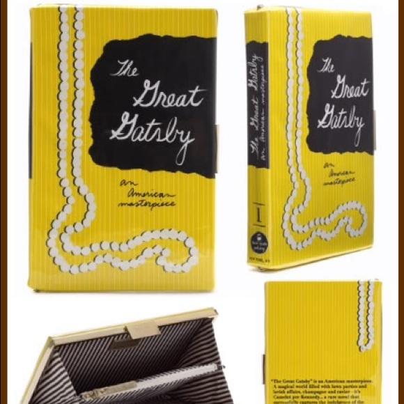 Kate Spade Great Gatsby Book Clutch