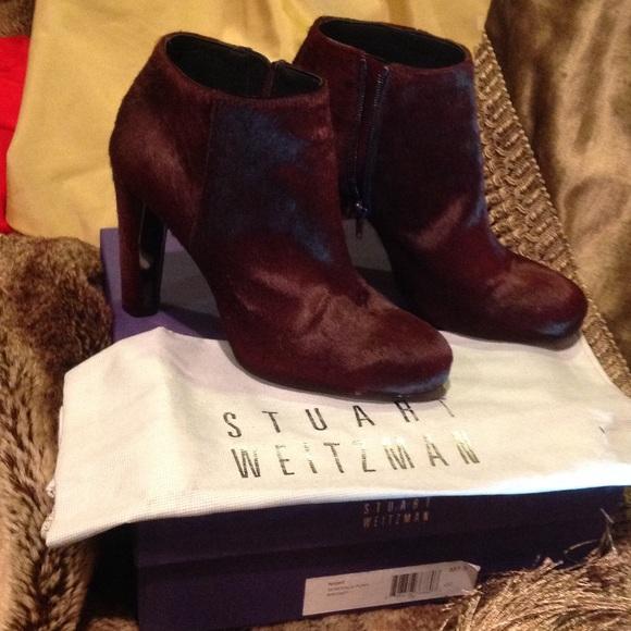 Stuart Weitzman Ponyhair Ankle Boots sale 2014 cheap professional with credit card online PrMunZMdU