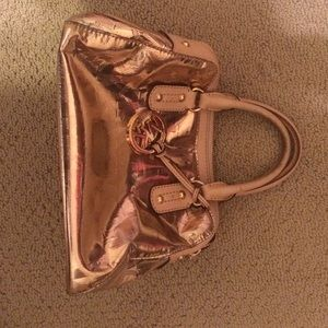 Rose Gold MK  purse with optional longer handle.