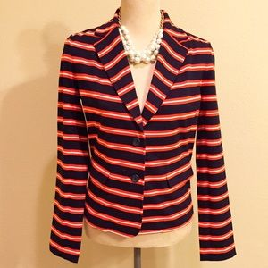 Factory Stripe Knit Blazer by J. Crew