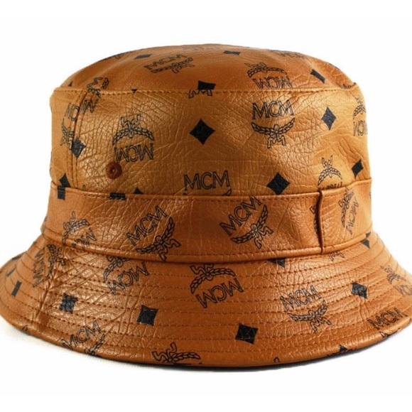 MCM custom made bucket Hat. M 54da05b6a88e7d0c0c02f089 050c7d878f0