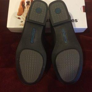 513997167c3 Hush Puppies Shoes - Hush Puppies low heel BLONDELLE Black leather shoe