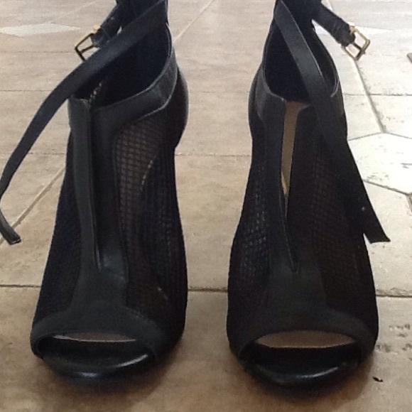 4cf0f2764b5 Jessica Simpson Boots - Jessica Simpson black open toe boots