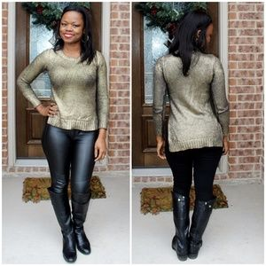 Guess Sweaters - Guess Illuminating Gold Sweater