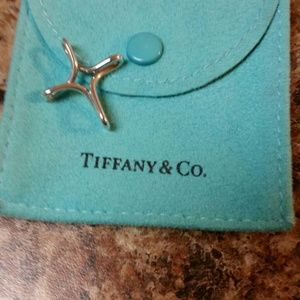 Tiffany & co. Elsa Peretti Infinity Cross Pendant