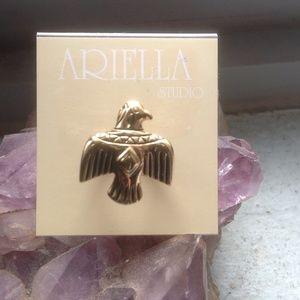 Ariella Accessories - Gold Tone Ring