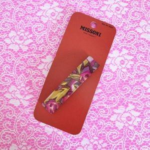 Missoni for Target Barrette Hair Clip Band Floral