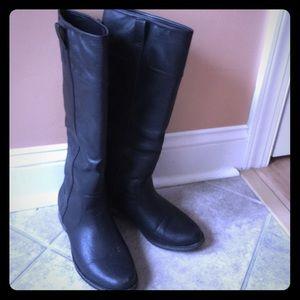 Rampage black tall boots sz 7