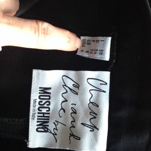 Moschino Pants Cheap Chic Black High Waist Dress Poshmark