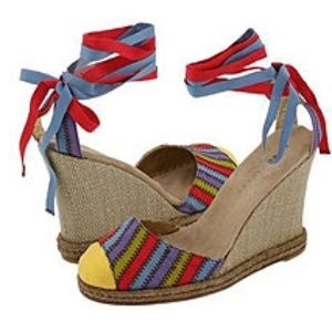 Marc Jacobs Shoes - NEW!! Marc Jacobs Carnival Espadrilles Tie Lace Up