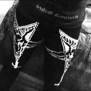 Outerwear - 👹Baphomet print leggings👹