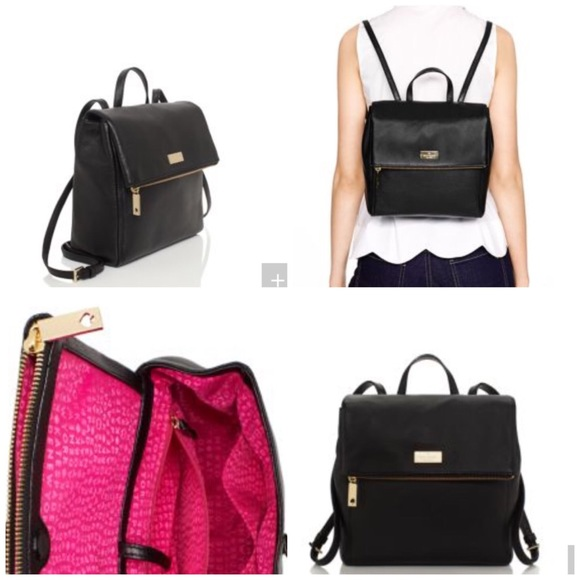 a5114bb6ac40 Kate Spade leather backpack