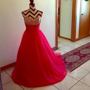 Gorgeous Princess Prom Gown