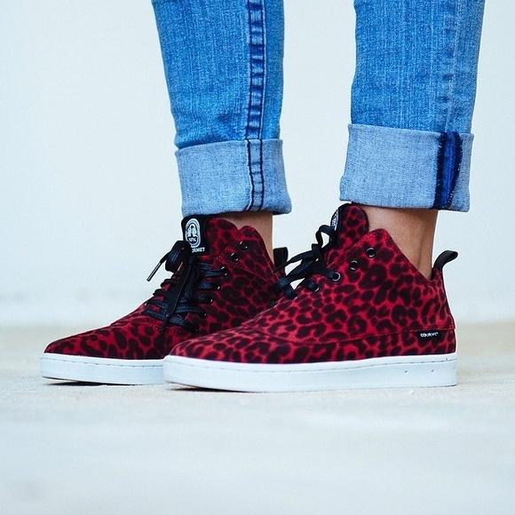 Vday Sale Gourmet Footwear Red Leopard