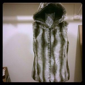 Reversible fur lined vest!