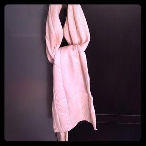 Barneys new york Accessories - Barneys New York cream color winter scarf