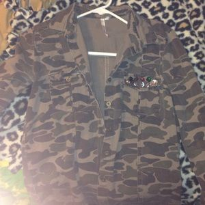 forever 21 Camo jacket!