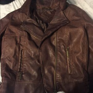 NEVER USED leather jacket