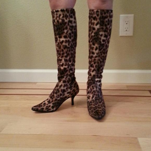 Donald Pliner Leopard Boots