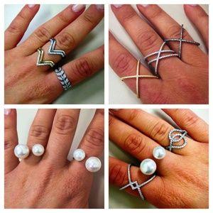 Jewelry - STERLING SILVER CZ JEWELRY!