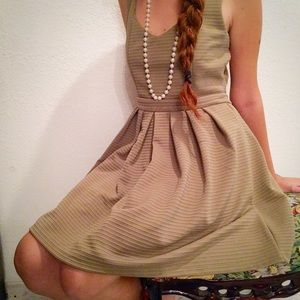 Poof Couture Dresses & Skirts - Green Dress with A Cut Out Heart in The Back