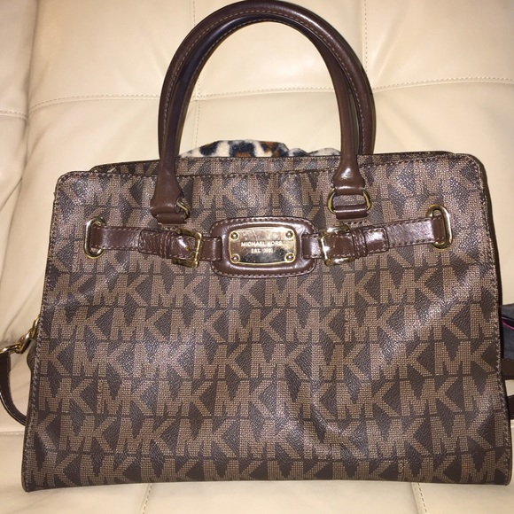 5ac2398ac3eb Authentic Michael Kors Hamilton Large Logo Tote.  M 54dac6cbea3f362351035b60. Other Bags you may like
