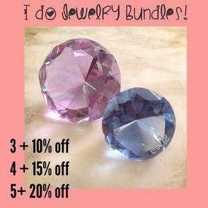 I do jewelry bundles! 💎