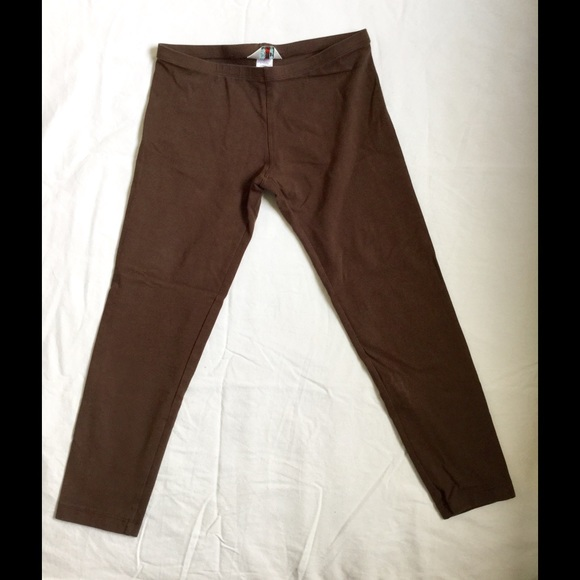 fc05b1593253e Hard Tail Pants | Brown Cropped Workout Leggings Capri S | Poshmark