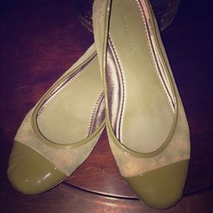 Green Banana Republic Flats