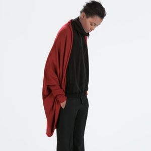 Zara Oversized Jacket *Red*
