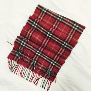 Burberry Accessories - Burberry of London Checked Scarf