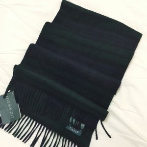 Lyle and Scott Accessories - Lyle and Scott Tartan Cashmere Scarf
