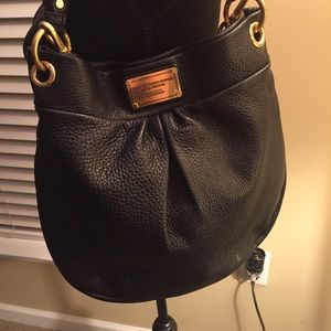 Marc Jacobs Hobo Hillier - Black