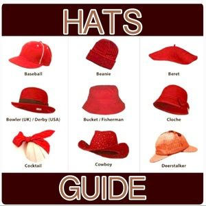 Accessories - ❤️HATS GUIDE❤️