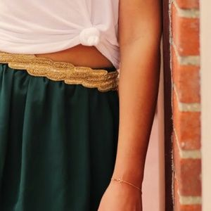 Anthropologie stretch belt small