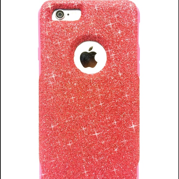 best sneakers e9c16 f26d0 iPhone 6 plus Otterbox commuter glitter case NWT