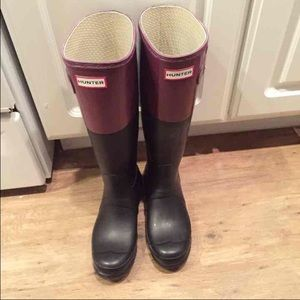 Hunter Boots Original Color Block