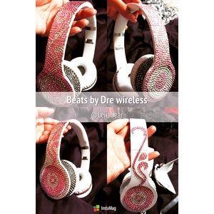 Beats by Dre wireless with Swarovski crystals