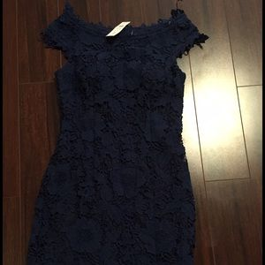Cache lace mini dress