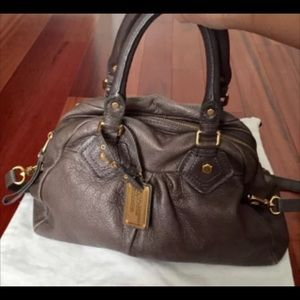 Marc by Marc Jacobs Gray Aidan Satchel