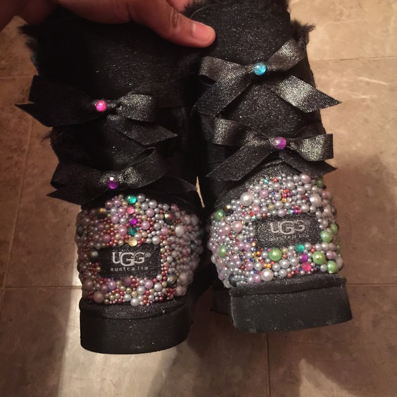 Uggs Glitter Boots