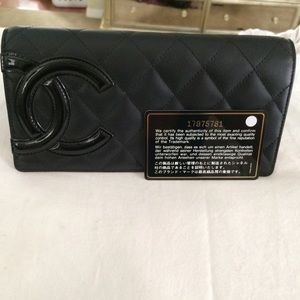 Authentic Chanel Cambon Bifold Wallet